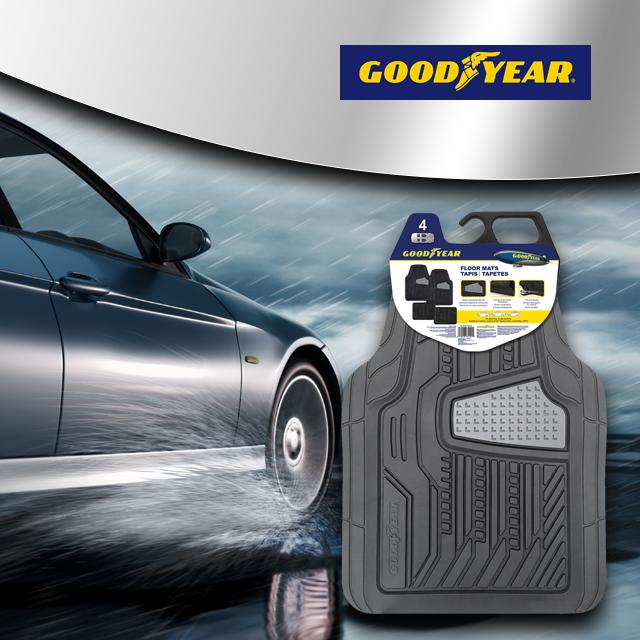 Goodyear- Vehicle Car & Truck Mats