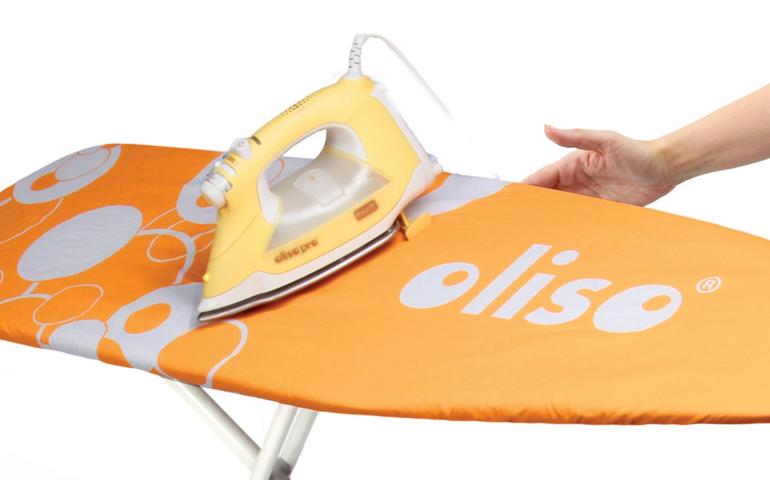 Oliso Brand - Mini Iron Smart Iron Vacuum Sealer Smarthub Top
